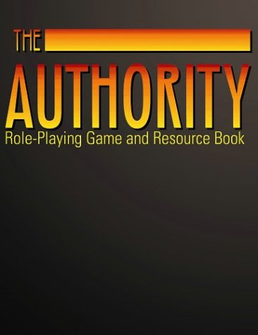 9781894938044: The Authority: Role-Playing Game And Resource Book