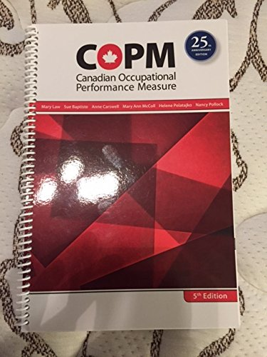 9781895437911: Canadian Occupational Performance Measure