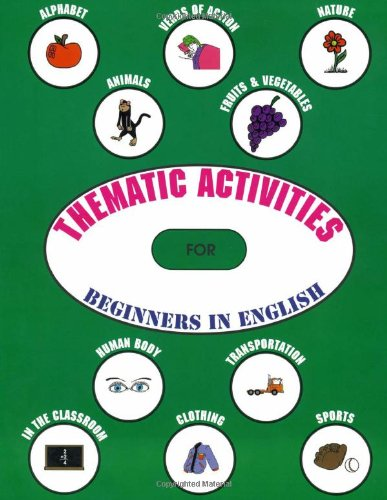 9781895451160: Thematic Activities for Beginners in English