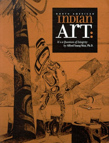 North American Indian Art. It's a Question: Young Man, Alfred,