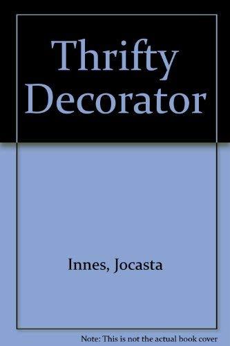 Thrifty Decorator: Innes, Jocasta