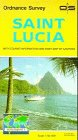 9781895907865: Saint Lucia (Tourist Map)
