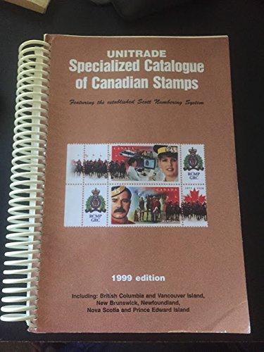 Unitrade Specialized Catalogue of Canadian Stamps, 1999