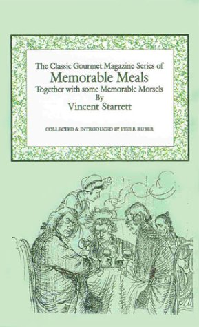 V2 Memorable Meals (9781896032641) by Vincent Starrett