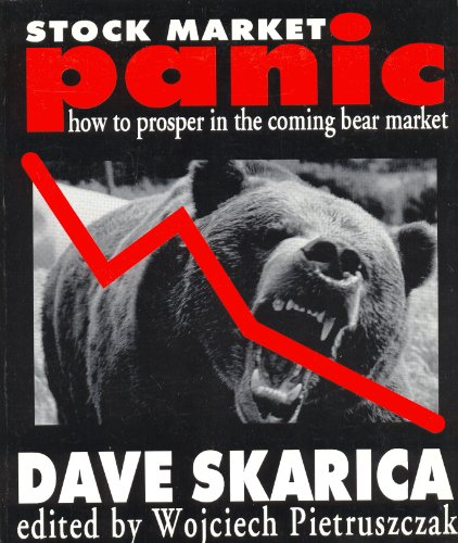 9781896210933: Stock Market Panic! How to Prosper in the Coming Crash