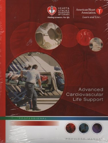 9781896242828: Advanced Cardiovascular Life Support: Provider Manual (Professional)
