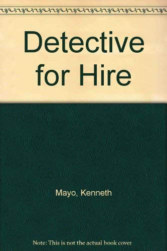 9781896329239: Detective for Hire