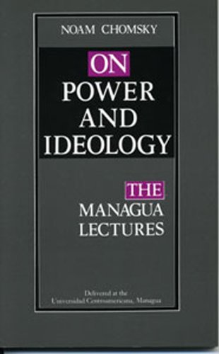 9781896357676: On Power and Ideology: The Managua Lectures