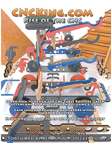 Cncking.com Volume 4: Rise of the Cnc - Ultimate Cnc Design Course: Jonathan Cantin
