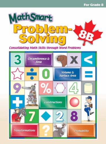 9781896477626: MathSmart: Problem-solving: Mathematics Supplementary Workbook