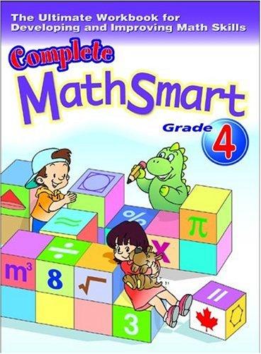 9781896477787: Complete Math Smart Grade 4