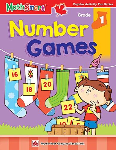9781896477886: MATHSMART ACTIVITY:NUMBER GAMES,GRADE 1
