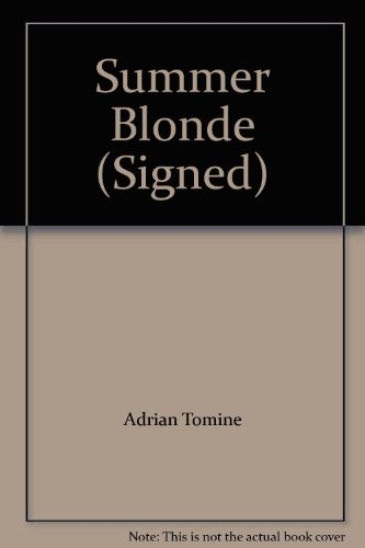 9781896597508: Summer Blonde (Signed)