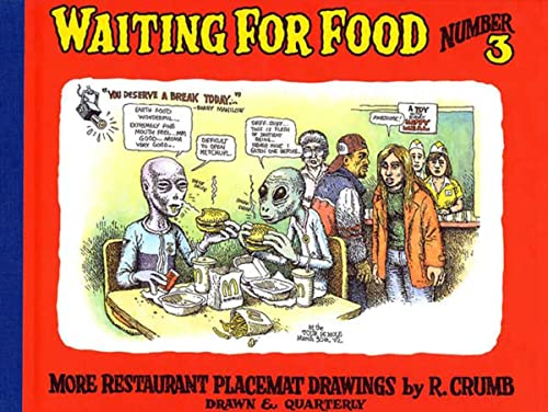 9781896597584: Waiting for Food, Number 3: More Restaurant Placemat Drawings
