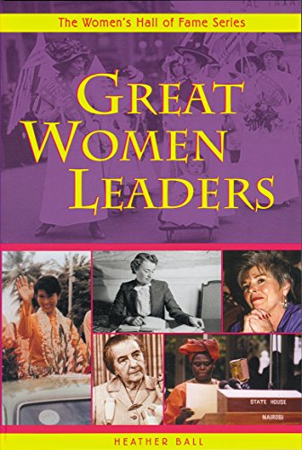 9781896764818: Great Women Leaders (Women's Hall of Fame Series)