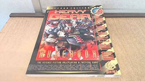 Heavy Gear Rulebook, 2nd Edition (Dream Pod: Philippe R. Boulle;