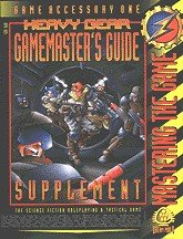 Heavy Gear Gamemaster's Guide: Supplement: Mastering the Game (Game Accessory One) (DP9-103)