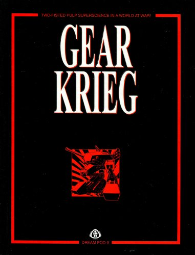9781896776729: Gear Krieg (Two Fisted Pulp Superscience Roleplaying)