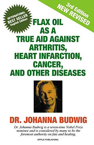 Flax Oil as a True Aid Against: Budwig, Dr Johanna