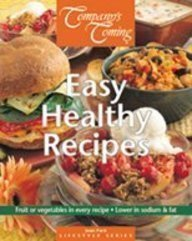 Easy Healthy Recipes (Company's Coming Lifestyle Sereis) (1896891799) by Jean Pare