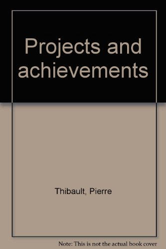 Projects and achievements: Thibault, Pierre