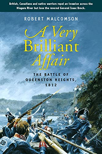 9781896941462: A Very Brilliant Affair: The Battle of Queenston Heights, 1812