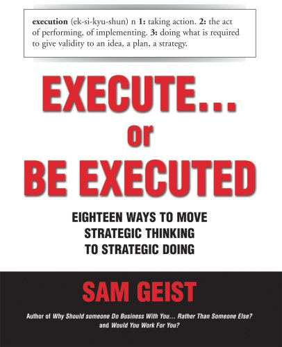 Execute. or Be Executed: Geist, Sam