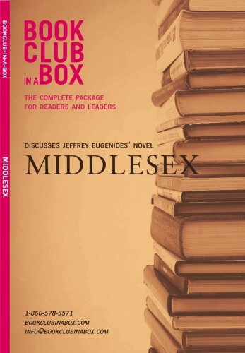 9781897082003: Bookclub-in-a-Box Discusses Middlesex, the Novel by Jeffrey Eugenides