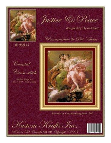 9781897097076: Justice & Peace Cross-stitch (95033)