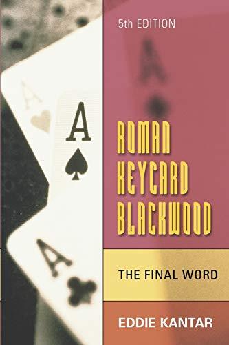 9781897106358: Roman Keycard Blackwood: The Final Word