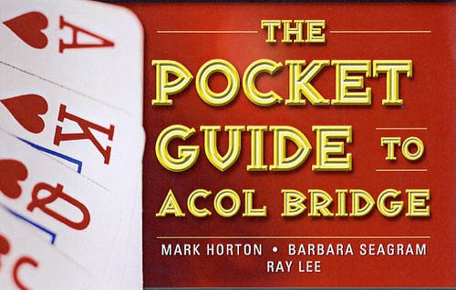 9781897106464: The Pocket Guide to ACOL Bridge