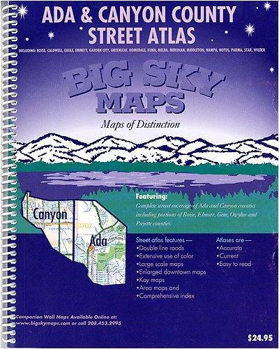9781897152041: Ada & Canyon County Street Atlas (Southwest Idaho Street Atlas Series)