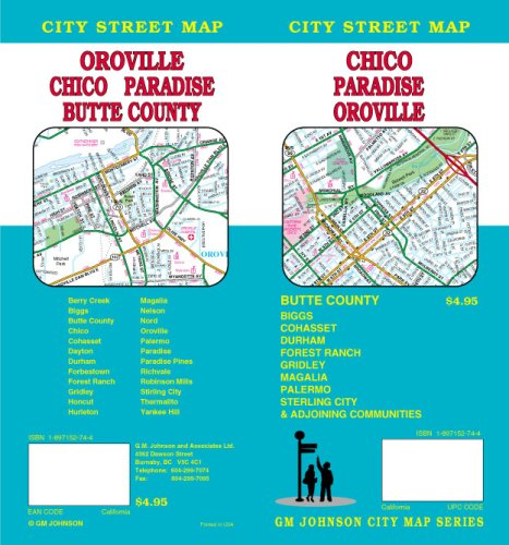 9781897152744: Chico, CA;Oroville/Paradise/Butte