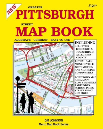 9781897152904: Greater Pittsburgh & Allegheny County Street Map Book