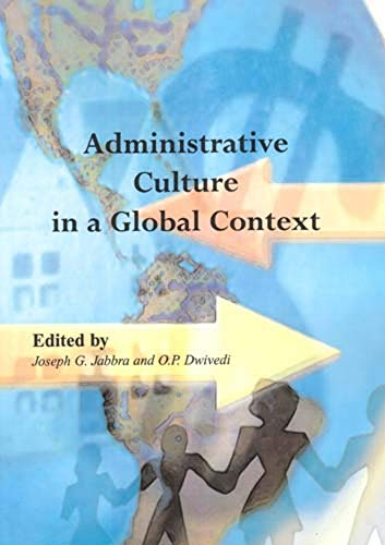 9781897160152: Administrative Culture in a Global Context