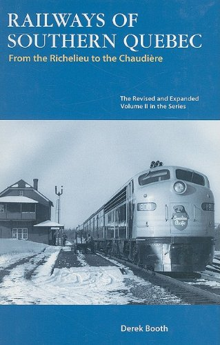 9781897190432: Railways of Southern Quebec