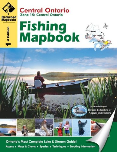 Central Ontario Fishing Mapbook (Backroad Mapbooks): Mussio, Russell, Mussio, Wesley, ...