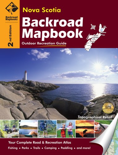 9781897225547: Nova Scotia (Backroad Mapbooks)