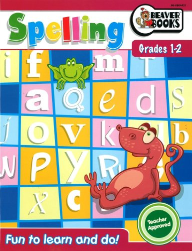 Fun to Learn and Do Spelling Grades 1-2: Beaver Books