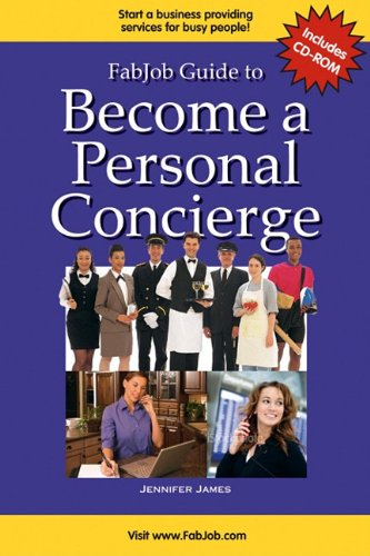 9781897286227: FabJob Guide to Become a Personal Concierge Business Owner (FabJob Guides)