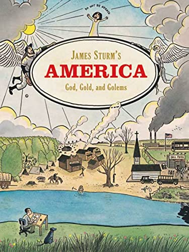 James Sturm's America: God, Gold and Golems: James Sturm