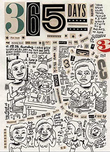 365 Days: A Diary by Julie Doucet: Julie Doucet