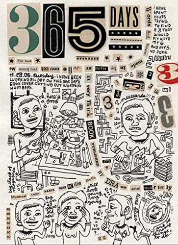 365 Days: A Diary by Julie Doucet (189729915X) by Julie Doucet