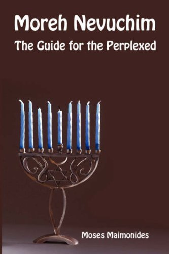 9781897352250: Moreh Nevuchim - The Guide for the Perplexed