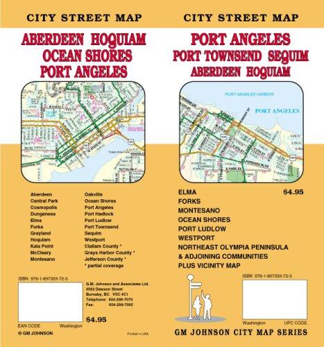 9781897359723: Port Angeles / Port Townsend / Aberdeen / Hoquiam, WA Street Map