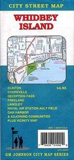 9781897359860: Whidbey Island City Street Map