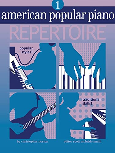 American Popular Piano Repertoire Level 1 Book and CD: Christopher Norton
