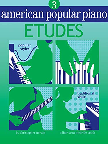 9781897379141: American Popular Piano - Etudes: Level Three - Etudes