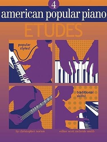 9781897379158: American Popular Piano - Etudes: Level 4