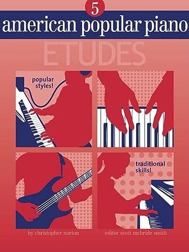 9781897379165: American Popular Piano - Etudes: Level Five - Etudes